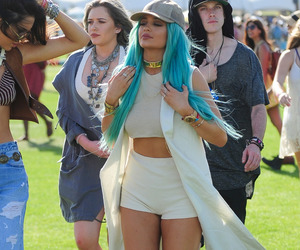kylie jenner and coachella image