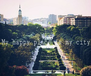 city, lovely, and my happy place image