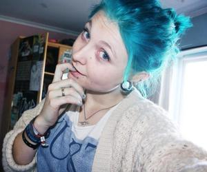 amazing, hair, and hair blue image