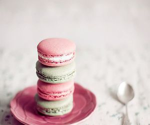 sweet, macaroons, and food image