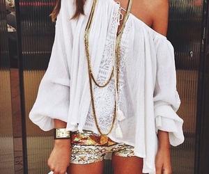 fashion, boho, and outfit image
