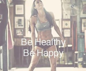 happy, healthy, and fit image