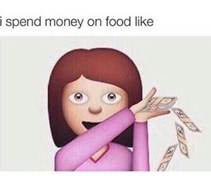 food, funny, and money image
