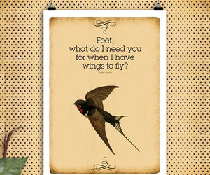 frida kahlo, quotes, and fly quotes image