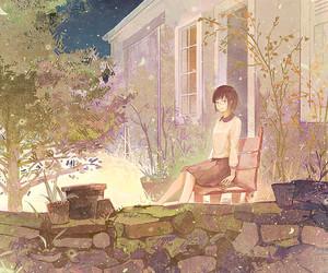 art, girl, and lovely image