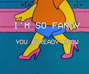 fancy, simpsons, and bart image