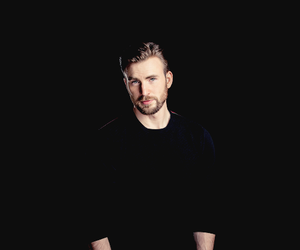 beautiful, captain america, and chris evans image
