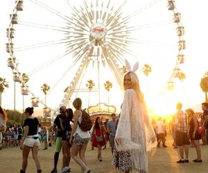 fashion, girl, and rabbit image