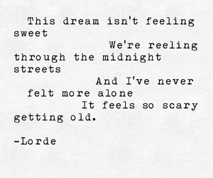 Dream, Lyrics, and quote image
