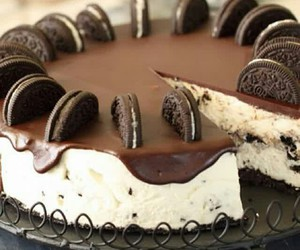 oreo, cake, and chocolate image