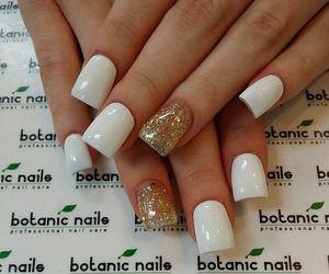 nail art, nails, and botanic nails image