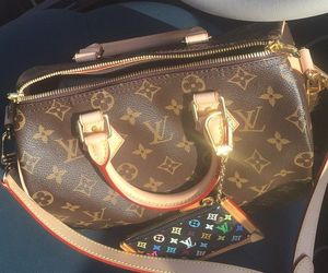 bag, colorful, and Louis Vuitton image