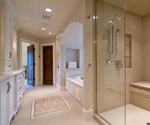 bathroom, luxury, and decoration image