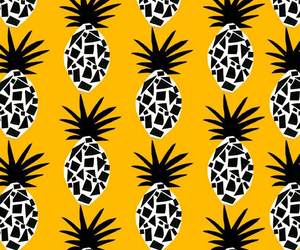 background, pineapple, and fruit image