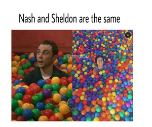 sheldon cooper and nash grier image