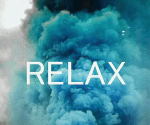 relax, blue, and gif image