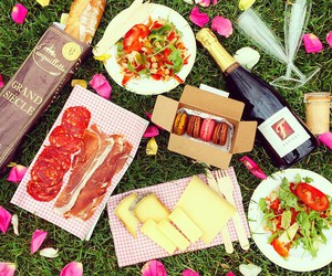 food, cheese, and paris image