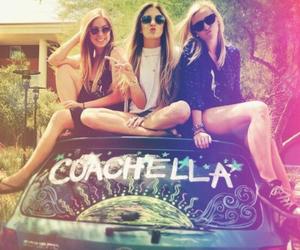 coachella, girl, and friends image