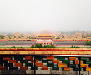 beijing, Forbidden city, and foggy image