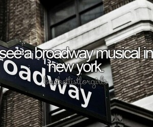 musical, new york, and broadway image