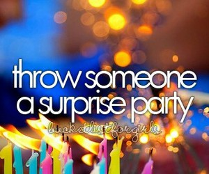 girls, party, and surprise image