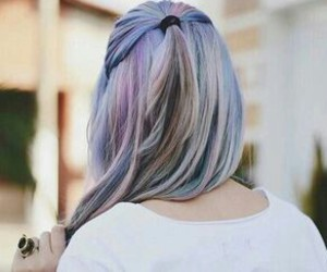 hair, grunge, and hairstyle image
