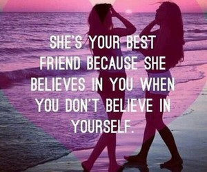 friends, believe, and bff image