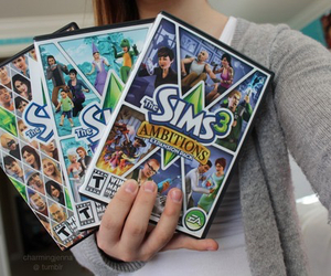 sims, game, and tumblr image
