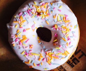 cake, donut, and multicolor image