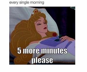 morning, funny, and sleep image