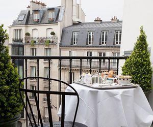 paris, building, and breakfast image