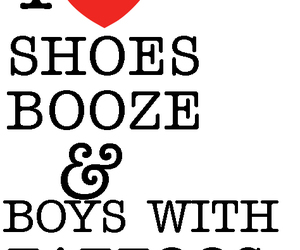 black, booze, and boys image