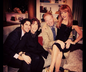 kathy griffin, jesse tyler ferguson, and Lily Tomlin image