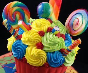 birthday, cupcake, and giant image