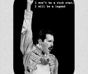 awesome, Freddie Mercury, and legend image