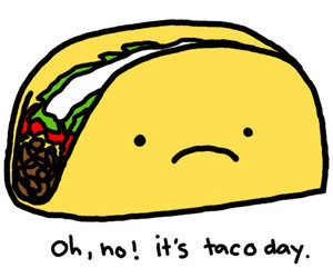 food, funny, and taco image