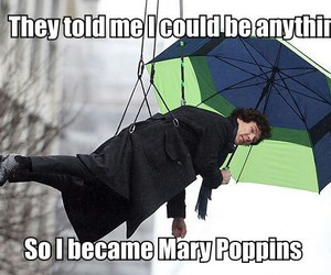 Mary Poppins and benedict cumberbatch image