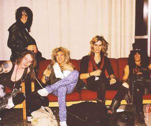 Guns N Roses, slash, and duff mckagan image