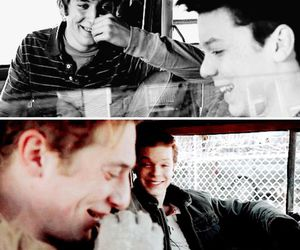jeremy allen white, cameron monaghan, and ian gallagher image