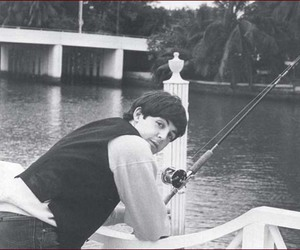 beatles, fishing, and Paul McCartney image