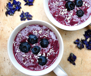 healthy and blueberry image