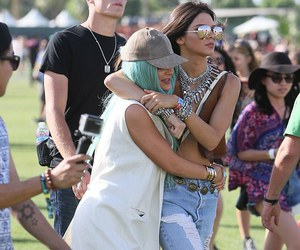 kylie jenner, coachella, and kendall jenner image
