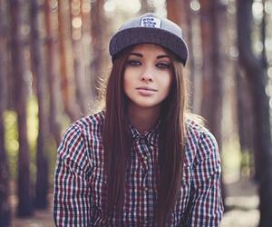 girl, swag, and hair image