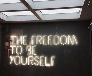 neon, freedom, and light image