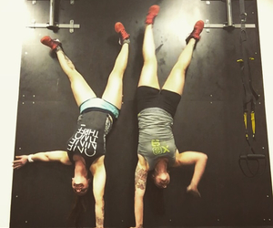 bff, handstand, and inspiration image