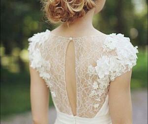 bridal, cute, and dress image