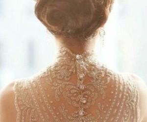 bridal, dress, and elegant image