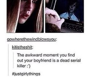 american horror story, just girly things, and love image