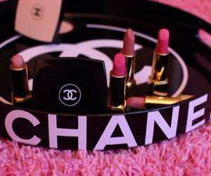 chanel, lipstick, and pink image