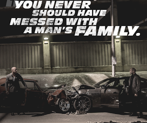 fast and furious and family image